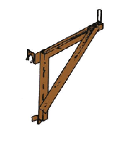 SIDE BRACKET–ANGLE IRON W/PIN (#32)